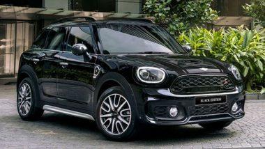 भारतात फक्त 24 लोक खरेदी करु शकतात 'Mini Countryman Black Edition' ची खास कार, 42.40 लाख रुपये किंमत