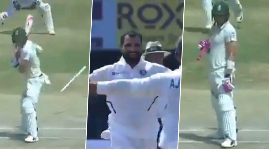 IND vs SA 1st Test 2019: मोहम्मद शमी याच्या सर्वोत्तम इनस्विंजरवर फाफ डु प्लेसिस ची उडाली दांडी, फलंदाजीही राहिलास्तब्ध, पहा Video