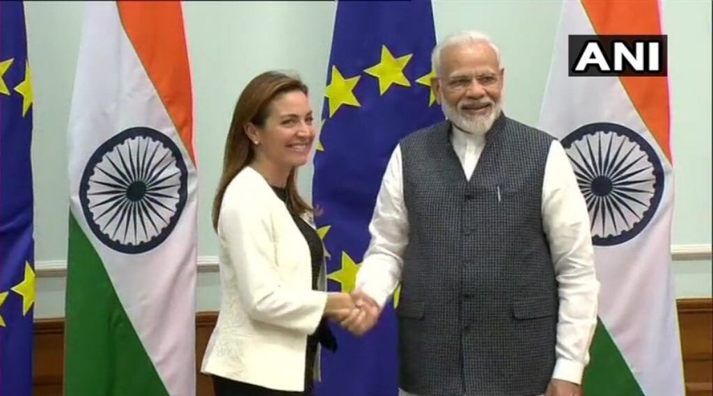 पंतप्रधान नरेंद्र मोदी यांच्या भेटीला युरोपिन संसदेच्या सदस्यांची टीम, 29 ऑक्टोबरला जम्मू-कश्मीर दौरा करणार
