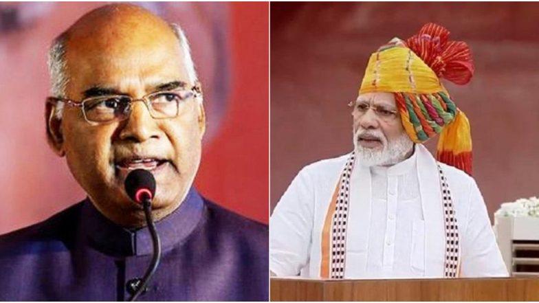 पंतप्रधान नरेंद्र मोदी, राष्ट्रपती रामनाथ कोविंद यांच्याकडून जनतेला दसऱ्याच्या हार्दिक शुभेच्छा