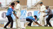 भारतीय चाहत्याकडून दक्षिण अफ्रिकेच्या खेळाडूला चरणस्पर्श; Quinton De Kock झाला भाऊक मारली मिठी, चाहत्याची चप्पलही दिली उचलून; पहा Photo