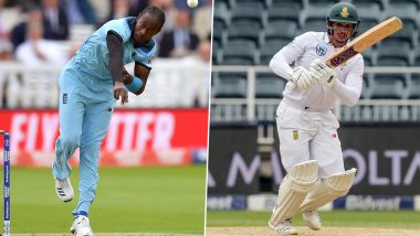 IND vs SA 1st Test 2019:क्विंटन डी कॉक याच्या शतकी खेळीबाबत जोफ्रा आर्चर याने 5 वर्षांपूर्वी केली होतीभविष्यवाणी? पहा हे Tweet