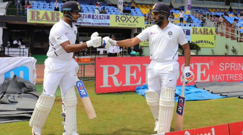IND vs SA 1st Test Day 4: Lunch पर्यंत भारताला106 धावांची आघाडी, मयांक अग्रवाल स्वस्तात बाद