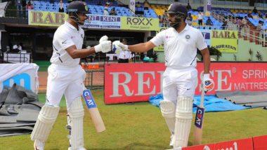 IND vs SA 1st Test Day 2: रोहित शर्मा सहमयंक अग्रवाल याचा धमाका; पहिल्या विकेटसाठी केली रेकॉर्ड भागीदारी, Lunch पर्यंत टीम इंडियाचा स्कोर 324/1