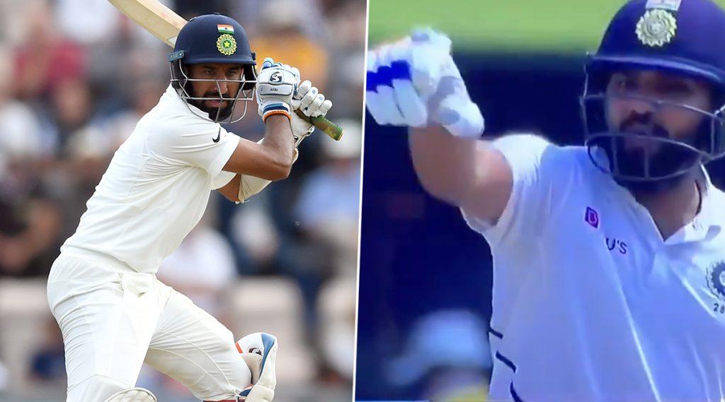 IND vs SA 1st Test Day 4: मॅच दरम्यान चेतेश्वर पुजारा वर भडकलारोहित शर्मा, मैदानात केलेली शिवीगाळस्टम्प माइकमध्ये कैद, पहा Video