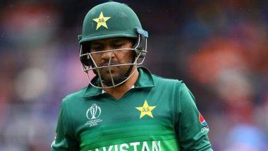 पीसीबीने सरफराज अहमद यांना कर्णधार पदावरुन हटवले; अझर अली याच्याकडे कसोटी तर, बाबर आझम याच्याकडे टी-20 कर्णधारपदाची जबाबदारी