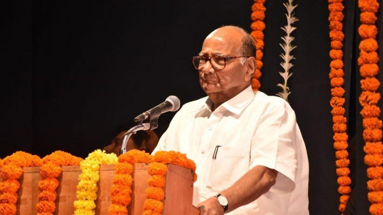Maharashtra Assembly Elections 2019: विधानसभेसाठी शरद पवार यांचा प्रचार दौरा; 'या' ठिकाणी धडाडणार तोफा