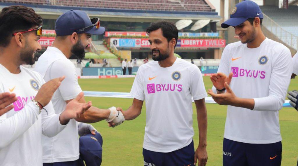 IND vs SA 3rd Test Day 1: क्रिकेटपटू शाहबाझ नदीम याचा वयाच्या तिशीत आंतरराष्ट्रीय क्रिकेटमध्ये डेब्यु,  15 वर्षांती तपश्चर्या आली फळाला , पहा Video