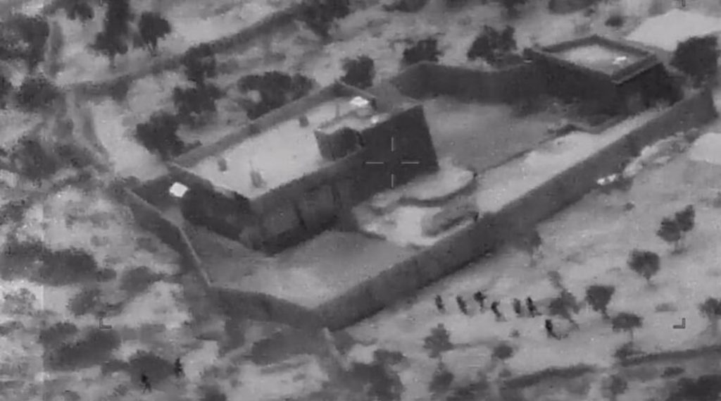 अमेरिकेच्या सेनेकडून बगदादी याच्या ठिकाणांवर हल्ला केल्याचा व्हिडिओ प्रसिद्ध (Watch Video)