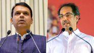 Maratha Reservation: मराठा आरक्षणाच्या मुद्द्यावरून मुख्यमंत्री उद्धव ठाकरे यांचा विरोधी पक्षनेते देवेंद्र फडणवीस यांना टोला