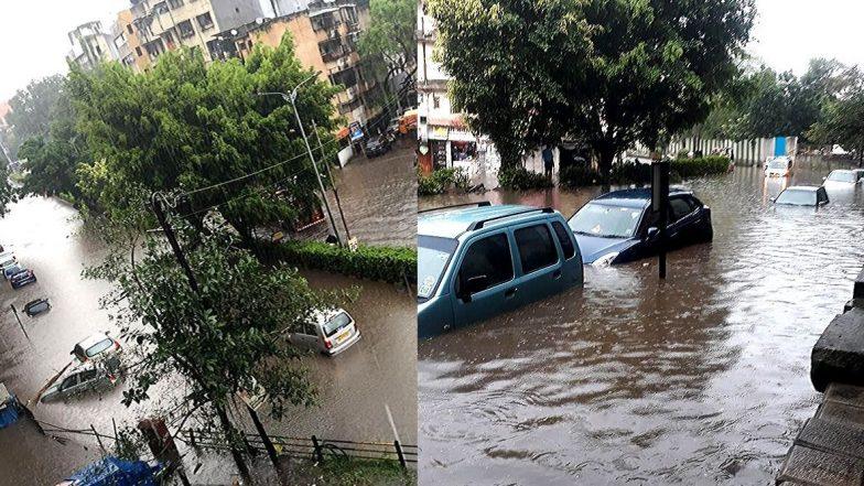 Heavy Rains In Pune: पुण्यात पुन्हा एकदा मुसळधार पाऊस; रस्ते जलमय, जनजीवन विस्कळीत
