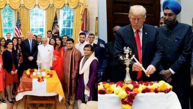 Diwali At White House: व्हाईट हाउस उजळणार दिव्यांनी; 24 ऑक्टोबरला Donald Trump साजरी करणार दिवाळी