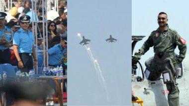 Air Force Day 2019: सचिन तेंडुलकर, अभिनंदन वर्धमान यांच्या उपस्थितीत भारतीय हवाई दलाचा 87वा वर्धापन दिन संपन्न (Watch Video)