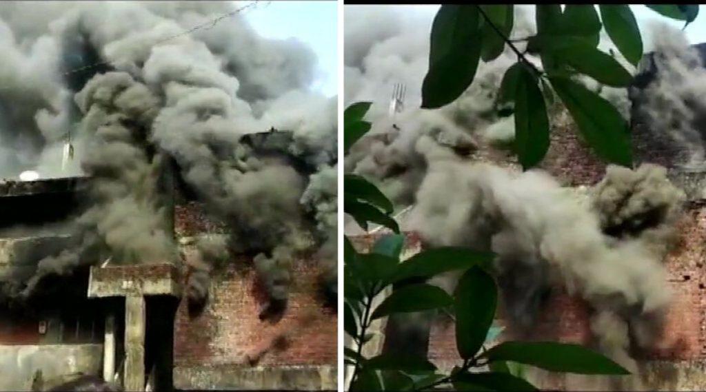 ठाणे: पूर्णा परिसरात गोडाऊनला आग; जीवित हानी टळली तरी मोठे नुकसान