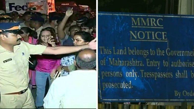 Aarey Forest: आरे जंगलात मुंबई पोलिस आणि पर्यावरण प्रेमींमध्ये संघर्ष पेटला, शेकडो आंदोलक ताब्यात