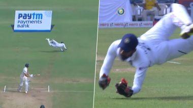 IND vs SA 2nd Test Day 4: रिद्धिमान साहा याने झेलला Superman कॅच; चाहत्यांसह विराट कोहली देखील झाला अचंबित, पहा (Video)