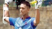 विजय हजारे ट्रॉफीमध्ये 17 वर्षीय मुंबईच्या यशस्वी जयस्वाल याचा डबल धमाका, झारखंड संघाविरुद्ध केले शानदार दुहेरी शतक