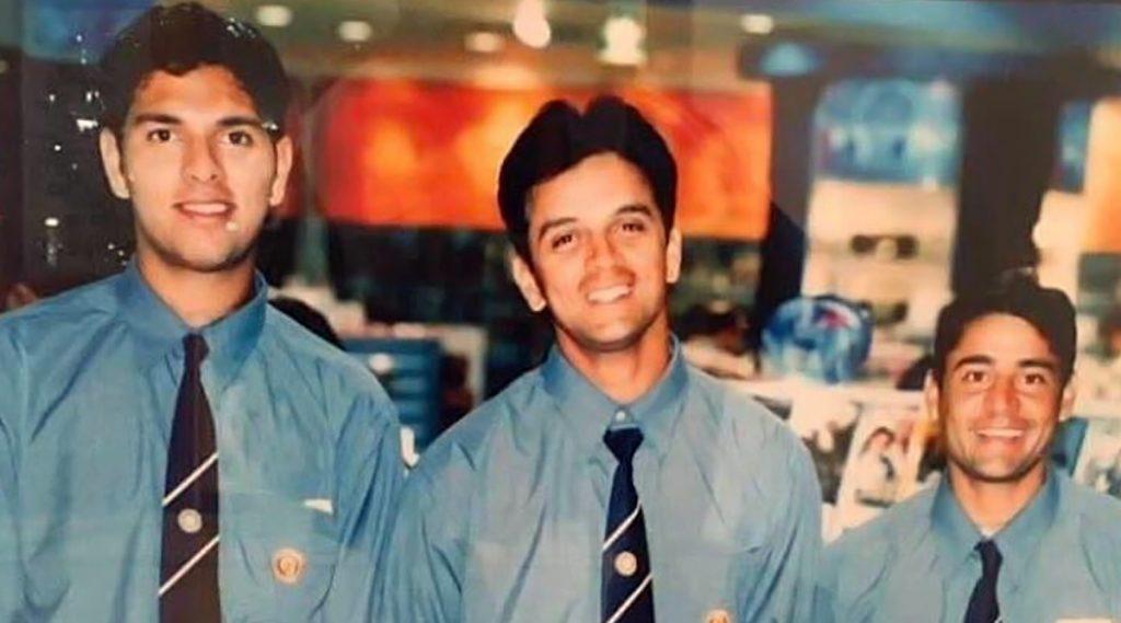 युवराज सिंह याला आली Debut सिरीजची आठवण,टीम इंडियासह पहिल्या दौऱ्याचा 'हा' फोटो केला शेअर