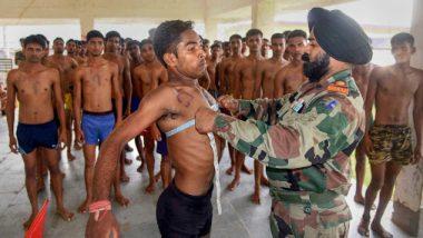 नाशिक: लष्कराच्या 63 पदांसाठी तब्बल 20 हजार तरुण देवळालीमध्ये दाखल