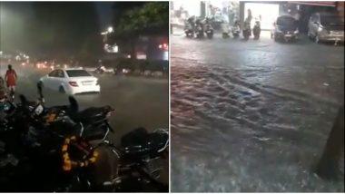 Pune Rains: पुण्यात तुफान पाऊस, अनेक भागांत साचले पाणी; Watch Videos