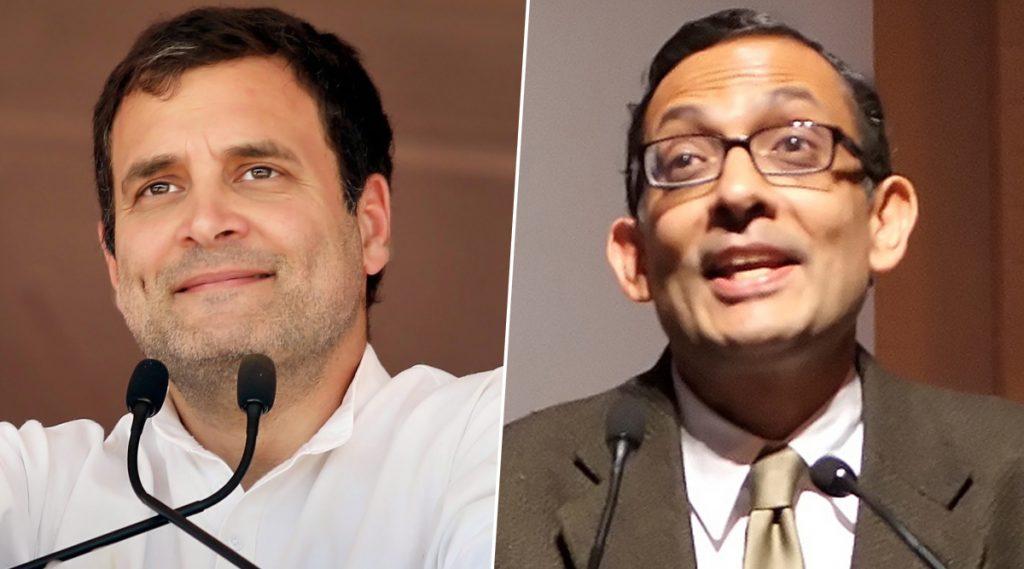 Banerjee, द्वेषाने अंध झालेले हे कट्टरपंथी खरा तज्ज्ञ कोण हे ओळखू शकणार नाहीत; Rahul Gandhi चा टोला