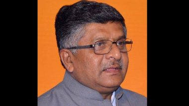 तीन चित्रपटांनी तर 120 कोटी कमावले आहेत; आर्थिक मंदीबाबत विचारले असता केंद्रीय मंत्री Ravi Shankar Prasad यांनी केलं विधान