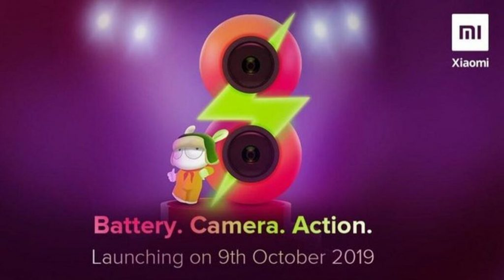 Redmi 8 येत्या 9 ऑक्टोंबरला भारतात होणार लॉन्च, युजर्सला मिळणार दमदार फिचर्स