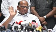 Maharashtra Government Formation: मुख्यमंत्री म्हणून उद्धव ठाकरे यांच्या नावावर सहमती- शरद पवार