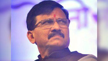 राज्यमंत्री राजेंद्र पाटील यड्रावकर अटकेनंतर आज संजय राऊत कर्नाटकला जाणार; हिंमत असेल तर कायद्याने रोखून दाखवा म्हणत सरकारला आव्हान