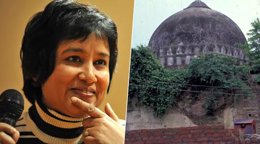 Ayodhya Verdict: अयोध्या निकालावर तसलीमा नसरीन यांचा सवाल, म्हणाल्या हिंदुंना 2.77 एकर, मुस्लीमांना 5 एकर का?