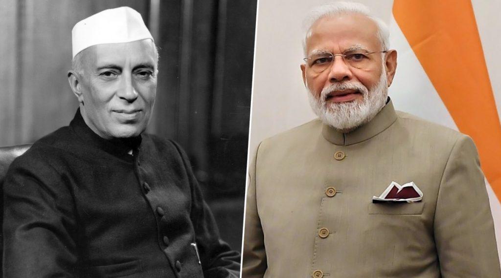 पंडित नेहरू यांना फॉलो करतात पंतप्रधान नरेंद्र मोदी, पहा त्याचा पुरावा