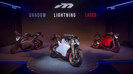इलेक्ट्रिक बाईक अल्ट्राव्हायलेट एफ 77 लाँच; चार्जिंग केल्यानंतर चालणार 150 किलोमीटर