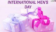 International Men's Day 2019 Gift Ideas: पुरूषांचे सौंदर्य ते आरोग्य जपण्यासाठी या '5' गोष्टी गिफ्ट देऊन खास बनवा यंदाचा जागतिक पुरूष दिन!