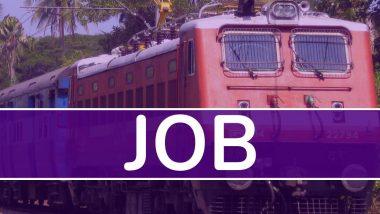 Sarkari Naukri: रेल्वेमध्ये 10वी पास, ITI केलेल्यांना नोकरीची संधी; 8 डिसेंबर पर्यंत करू शकता अर्ज