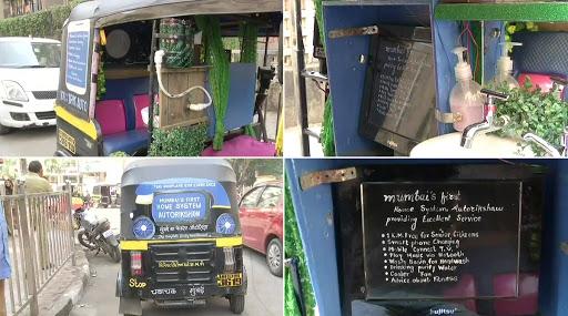 #Video: All In One Autorickshaw ! वॉश बेसिन पासून ते डेस्कटॉप मॉनिटर पर्यंत चक्क रिक्षात पुरवल्या जातात 'या' सुविधा; वाचा सविस्तर