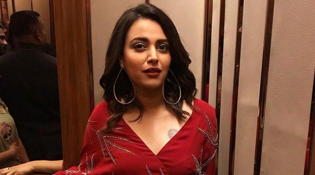 Swara Bhasker ला राग झाला अनावर; लहान मुलाला देऊन टाकली शिवी
