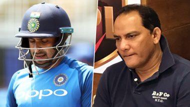 अंबाती रायुडू च्या भ्रष्टाचाराच्या आरोपावर मोहम्मद अजहरुद्दीन ने तोडले मौन, 'हताश क्रिकेटर'च्या टीकेनंतर रायुडू नेफटकारले