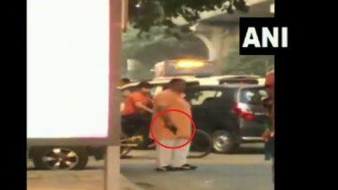 व्हिडिओ: भाजप खासदाराच्या कार्यालयाबाहेर गोळीबार; संशयीत आरोपीला अटक