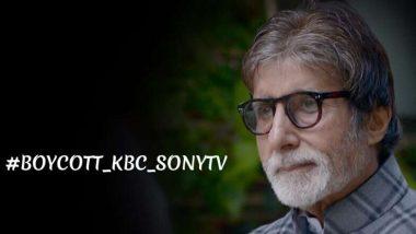 'छत्रपती शिवाजी महाराजां'चा उल्लेख फक्त 'शिवाजी' असा केल्यामुळे Kaun Banega Crorepati आणि Sony TV वर होत आहे बहिष्काराची मागणी