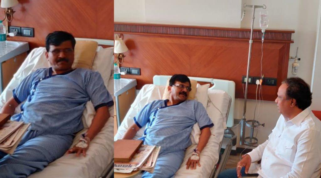 शिवसेना आणि भाजप अजूनही एकत्र? भाजप च्या 'या' दोन नेत्यांनी घेतली संजय राऊत यांची लीलावती रुग्णालयात भेट