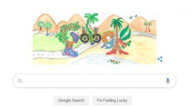 भारतीय बालदिन 2019: Google ने Doodle बनवून आपल्या खास शैलीत दिल्या बालदिनाच्या शुभेच्छा