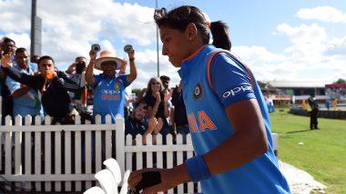 Video: हरमनप्रीत कौर हिने वेस्ट इंडिजविरुद्ध पहिल्या ODI मध्येपकडलाआश्चर्यकारक एक हाती कॅच