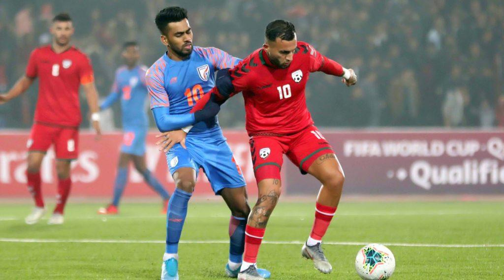 FIFA 2022 World Cup Qualifier: सेमिनलेन डूंगेल याने टाळला भारताचा पराभव, अफगाणिस्तानविरुद्ध सामना 1-1 ने ड्रॉ