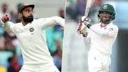 IND 16/0 in 6.1 Overs | IND vs BAN 2nd Test Day 1 Live Score Updates:
