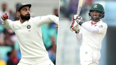 IND 98/8 in 27.6 Overs | IND vs BAN 2nd Test Day 1 Live Score Updates: इशांतने मेहदी हसनला केले बाद
