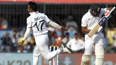 IND vs BAN 1st Test Day 1: मयंक अग्रवाल, चेतेश्वर पुजारा यांची तुफान फलदांजी;पहिल्या दिवसाखेर भारत बांग्लादेशच्या64 धावा मागे
