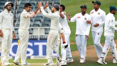 IND vs BAN 1st Test 2019 Match Live Streaming: भारत विरुद्ध बांग्लादेश लाईव्ह सामना आणि स्कोर पहा Star Sports आणि Hotstar Online वर