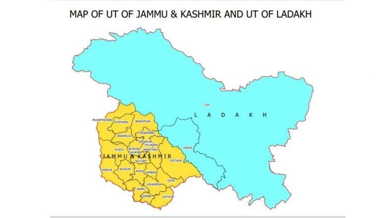 भारत देशाच्या नव्या नकाशावकरुन पाकिस्तान संतप्त