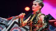 हॉलीवूडची लोकप्रिय गायिका Katy Perry चे मुंबईमध्ये दमदार आगमन; OnePlus Music Festival मध्ये करणार परफॉर्म (Video)
