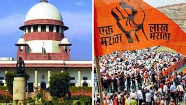 Maratha Reservation: मराठा आरक्षण स्थगिती उठविण्यासाठी सर्वच्च न्यायालयात विनंती अर्ज दाखल, महाविकासआघाडी सरकारचा निर्णय
